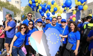 Europeans for Human Rights: the EU and Member States join Palestine Marathon